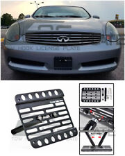 EOS For 03-05 Infiniti G35 Coupe EOS Front Tow Hook License Plate Bracket