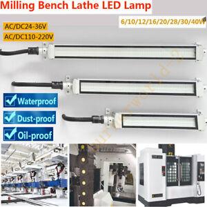 LED Fräsen CNC Werkzeugmaschinen Leuchte Werkstatt Arbeitslampe 24V 36V 220V