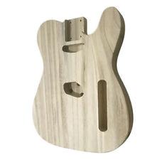 Unfinished DIY Electric Guitar Body Barrel For Tele TL Guitar Polished Maple