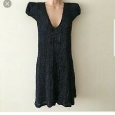 French connection dress. Brand new with tags. Size 10. Black with sequins all ov