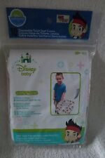Disney Jake and The Never Land Potty Toppers Germ Barrier Toilet seat Cover New