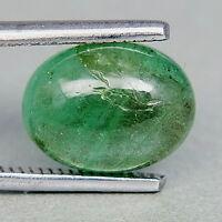 TOP EMERALD : 3,47 Ct Natürlicher Grüner Smaragd aus Sambia