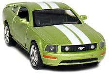 "2006 Ford Mustang GT with Stripes 1:38 Scale Diecast Car Model 5"" Green"