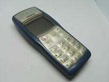 NOKIA 1100 RH-75 BLUE RETRO MOBILE PHONE WORKING UNLOCKED