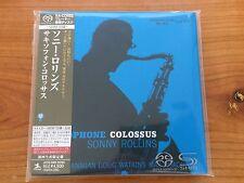 SHM SACD Sonny Rollins - Saxophone Colossus Universal Japan 1st release NEU MINT