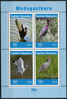 Madagascar 2019 MNH Ibis 4v M/S Water Birds Stamps