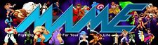 """Mame Fight for Your Life Arcade Marquee 26""""x8"""""""