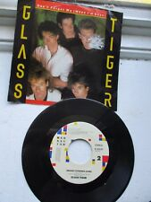 GLASS TIGER DON'T FORGET ME (WHEN I'M GONE) ANCIENT EVENINGS 45 RPM RECORD 1986