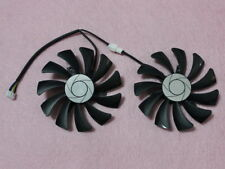 85mm MSI GTX1060 P106 Dual Fan Replacement 40mm 4Pin HA9010H12F-Z 12V 0.57A R220