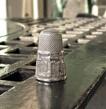Antique Silver Thimble Windsor Castle
