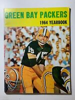 1964 GREEN BAY PACKERS YEARBOOK BART STARR COVER NFL FOOTBALL MAGAZINE ORIGINAL