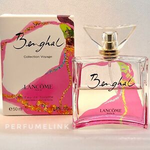 BENGHAL COLLECTION VOYAGE By Lancôme 50ml Edt Spray Women's Perfume ( USED )