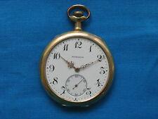 Fairchild & Sons Bridgeport CT (Longines) 15j 12s Pocket Watch, Gold Filled Case