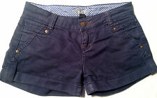 EUC - RRP $99 - Womens Sportsgirl Navy Cropped Shorts Size 6, 24
