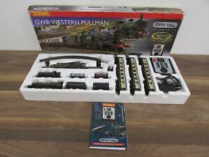 Hornby R1077 GWR Western Pullman 00 Gauge Digital Train Set Boxed