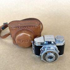 Mycro III A Subminiature Spy Film Camera (HIT TYPE) W/ 20mm 1:4.5 Lens & Case