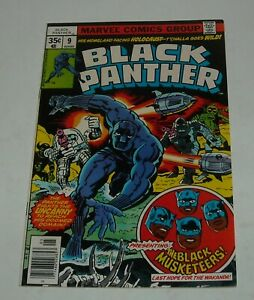 BLACK PANTHER # 9 MARVEL COMICS 1978 NEWSSTAND EDITION JACK KIRBY MUSKETEERS 1st