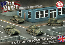 Team Yankee BNIB Scorpion or Scimitar Troop (Plastic) TBBX03