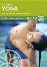 Am and PM Yoga for Beginners 0029956010413 With Rodney Yee DVD Region 1