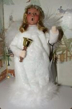 Byers Choice Angel with Bell The Nativity 2015 with Hang Tag  *