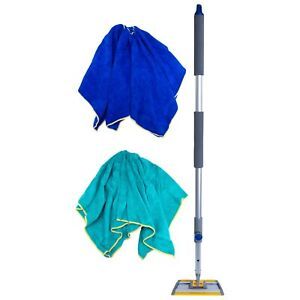6 Adjustable Extendable Aluminum Mop Pole Foam Handle 36 Inches to 64 Inches