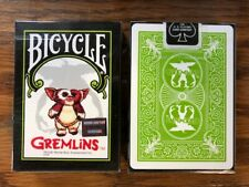 1 DECK Bicycle Gremlins playing cards USA SELLER!