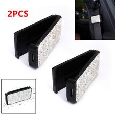 2PCS Car Seat Belt Clip Car Safety Seat Belt Elastic Adjustable Buckle Stopper
