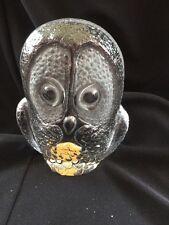 Royal Krona Sweden Studio Glass Owl