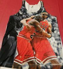Chicago Bulls Nba basketball Michael Jordan men's tank top muscle shirt small.