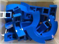 Arch 1 x 6 x 3 1//3 Curved Top NEW 5893 LEGO x 50 Blue Brick