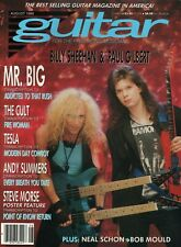 1989 August Guitar For The Practicing Musician - Magazine w/ Steve Morse Poster