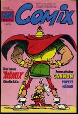 MV--Comix --  Heft 21 -- 11. Jahrgang -- Asterix -- Mit Fernsehstar Cannon -