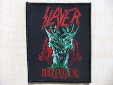 Aufnäher - Patch - Slayer - Root Of All Evil - Overkill - Metallica - Megadeth