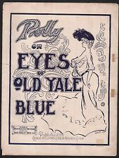 Polly or Eyes of Old Yale Blue 1902 Football Sheet Music