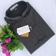 100% Cotton Kung fu Tai chi Martial Arts Bruce Lee shirt clothes Uniforms Grey