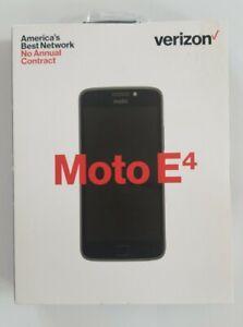 Motorola Moto E4 16GB (Verizon Prepaid) Smartphone Black