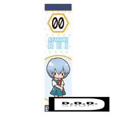 SEGA Evangelion series muffler towel feat.SANPATI 100㎝ REI japanese anime cute