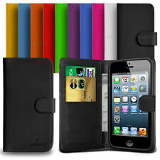 Custodia Case Flip Cover Pelle Portafogli Per Apple iPhone 5 - 5s