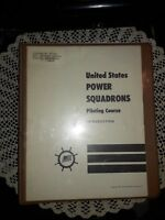 UNITED STATES POWER SQUADRONS PILOTING COURSE. 1963, WITH BOATING PAMPHLETS +++