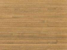 "1:12 Scale 18"" x 12"" Pine Finish Wood Strip Flooring Tumdee Dolls House 52a"