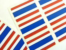 Autocollant Mini Pack, étiquettes auto-adhésives Thaïlande drapeau, fr249