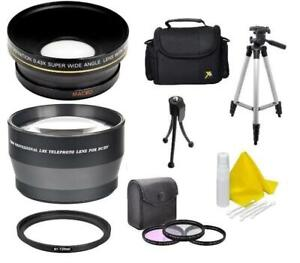 Accessory Standard Kit (Wide-Tele-Filters-Tripod-Bag+) For Nikon Coolpix P900