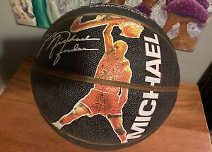 Michael Jordan Wilson Basketball Rare Last Bilt Vintage