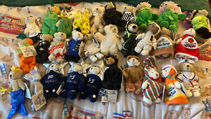 Huge lot Ganz Wee Bear Village Collection most with hang tags!
