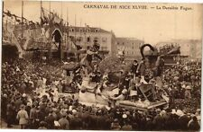 CPA Carnaval de Nice - La Derniére Fugue (198827)
