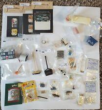 Lot of 32 New Vintage Dollhouse Miniatures Accessories - NIP- premium 1:12
