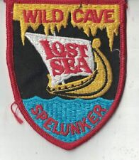 Spelunker Wild Cave Lost Sea Tennessee Attraction Underground Lake Patch 3 Inch