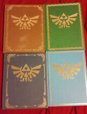 The Legend Of Zelda Collectors Edition Guides Lot