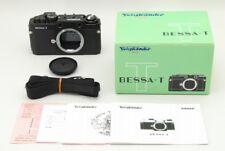 [EXC+++++] Voigtlander Bessa T Rangefinder Camera Black Body Only From JAPAN#109