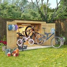 HONEYCROFT STORAGE PENT SHED BICYCLE GARDEN TOOLS COMPACT TALL 6 x 3 or 6 x 4